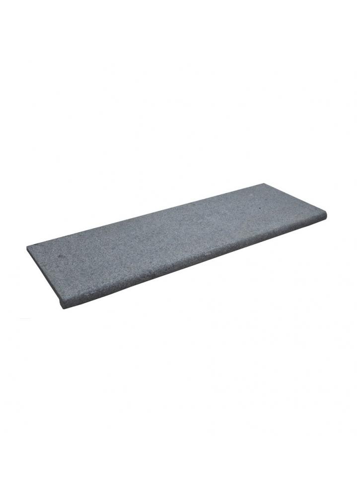 Podstopnica granitowa Bianco 120x15x2 cm