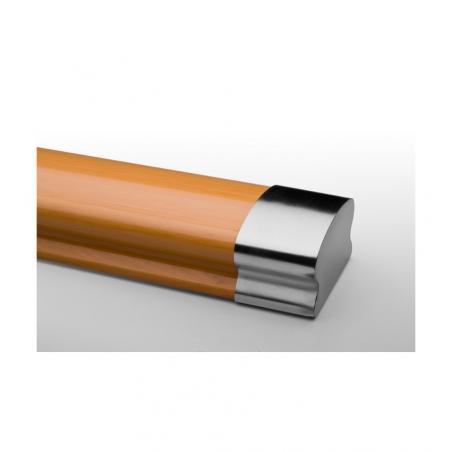 Łącznik poręczy PVC 40x65 MAT 2 szt