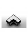 Zaślepka poręczy okrągłej PVC 50 mm POLER 2 szt