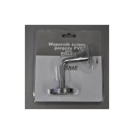 Wspornik ścienny poręczy PVC 50 mm MAT 1 szt